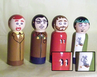 Flight of the Conchords pegs