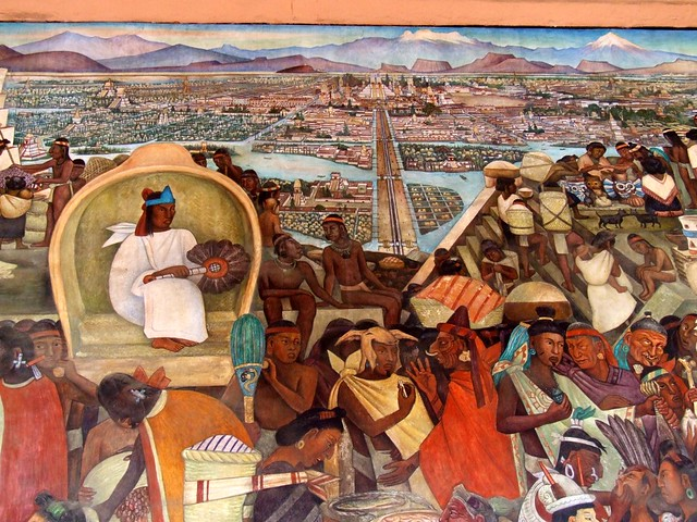 Tenochtitl n flickr photo sharing for Diego rivera tenochtitlan mural