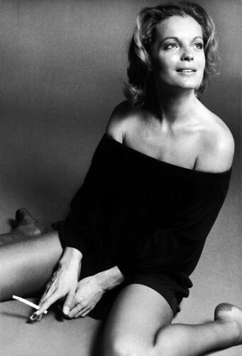 romy schneider by eva sereny by david haggard