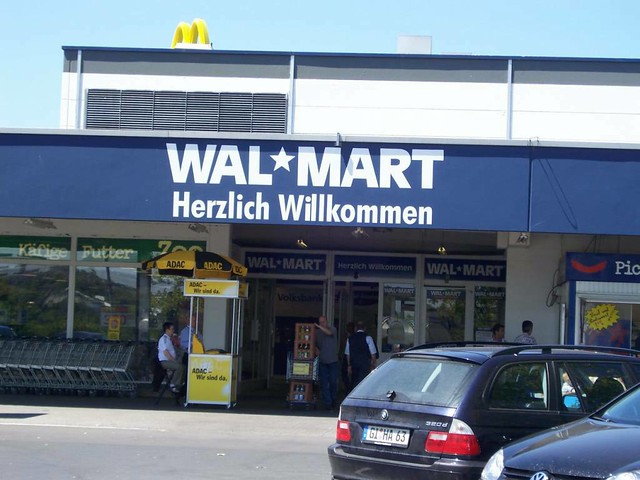walmart germany Wal-mart entered germany, the third-biggest retail market after america and  japan, in 1997-98 by buying two local retail chains, wertkauf and.