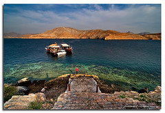 The Fjords of Oman :: View from Telegraph Island