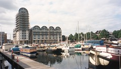 Baltic Quay viewed from South Dock Marina