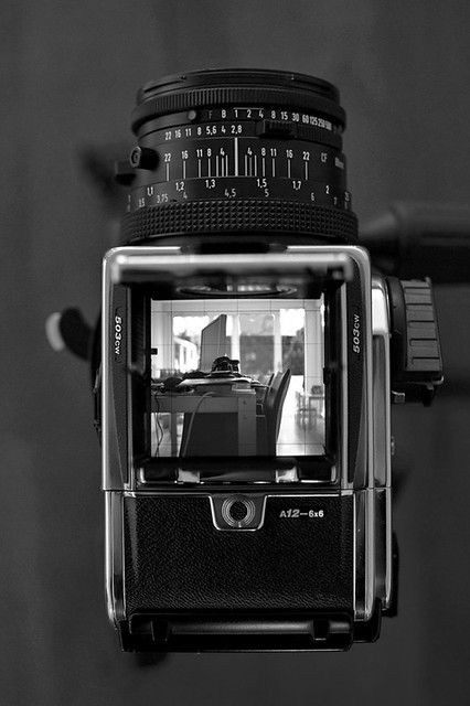 Hasselblad CW503 acute mate screen