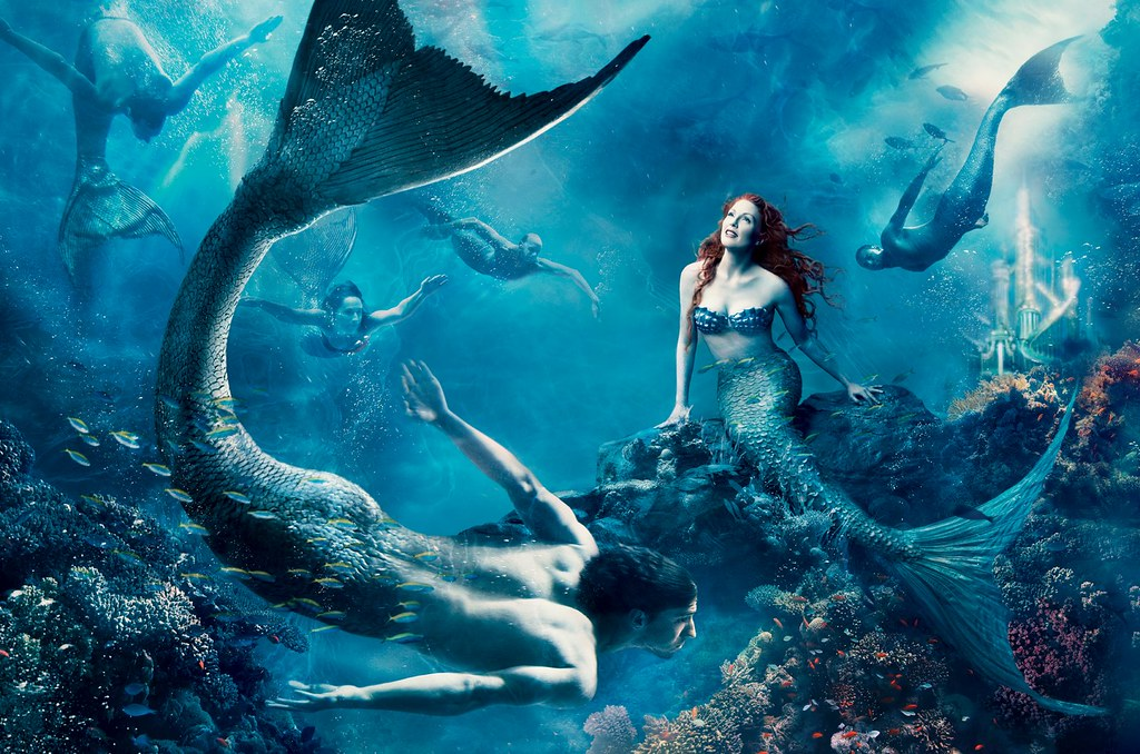 The Little Mermaid Little Mermaid Wallpaper By Annie Leibo