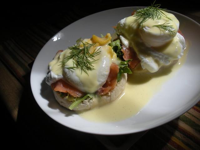 smoked salmon eggs benedict | Explore sara_mc's photos on Fl ...