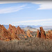 Transversely Rocks: Roxborough State Park near Denver, Colorado, USA