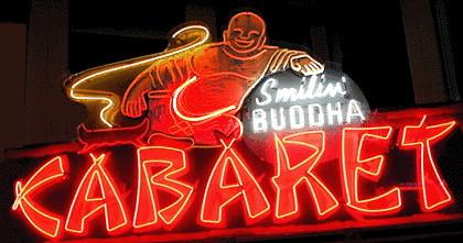 The Original Smiling Buddha Sign