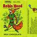 UK - Nestle's - Robin Hood milk chocolate 3p candy bar wrapper - 1970's by JasonLiebig