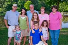 Ken Hungate's family