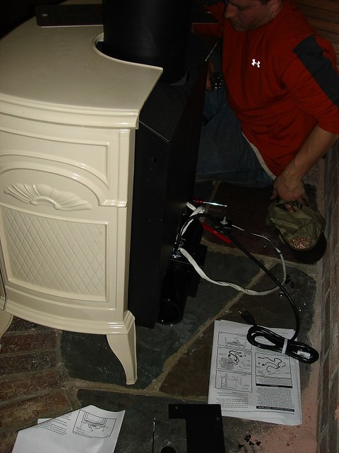 Vermont Castings Gas Stove Blower Installation Nh Flickr Photo Sharing