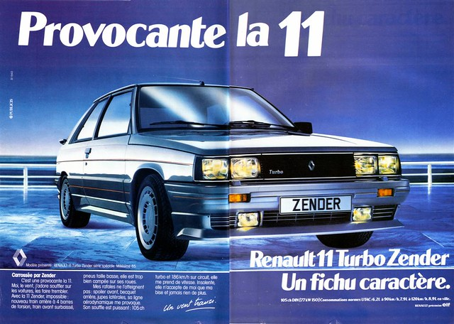 renault 11 turbo zender 1985 flickr photo sharing. Black Bedroom Furniture Sets. Home Design Ideas