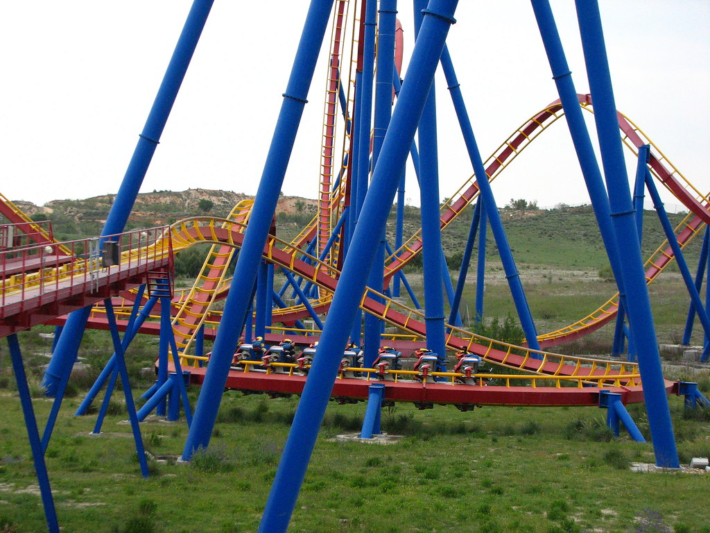 Parque Warner Madrid SUPERMAN