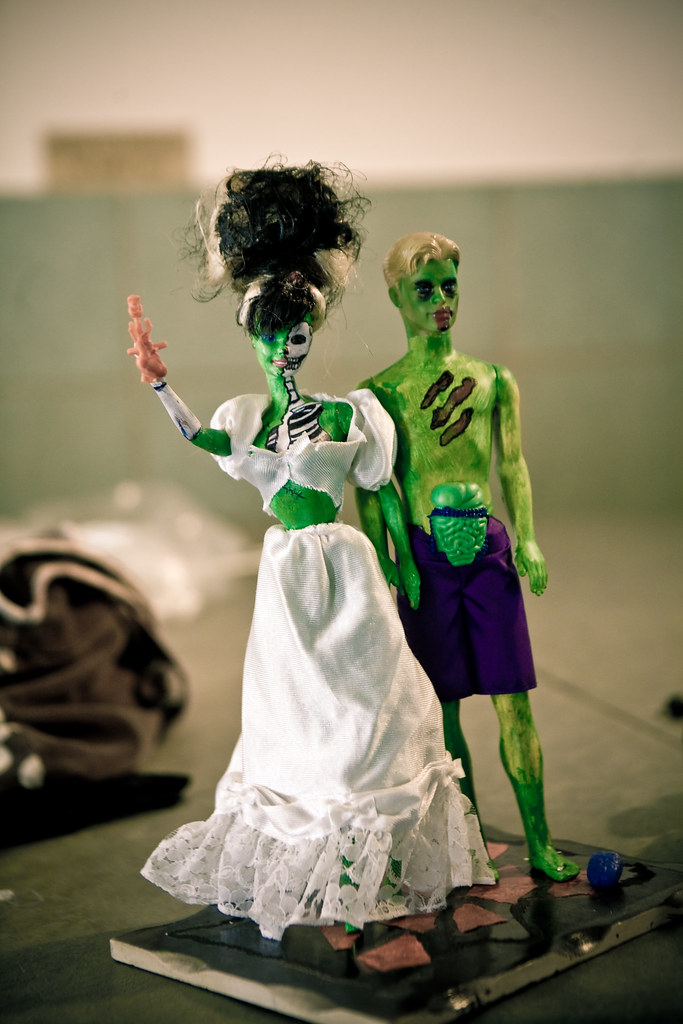 Zombie Barbie and Ken
