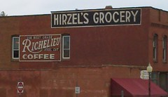 Painted advertising in Guthrie OK (Finis)