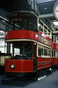 LT Tram 290 in Clapham Museum. Apr'69.  by David Christie 14