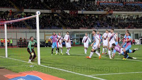 """Catania-Cagliari 1-1: commento """"a caldo""""$"""