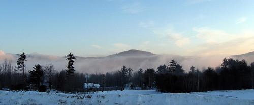 desktop morning winter wallpaper snow peru fog background maine sad21