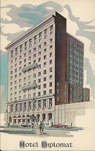 Hotel Diplomat - New York City (Postcard View)