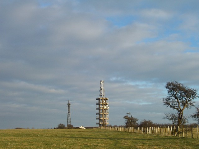 Radio masts, Swingfield Radio Station