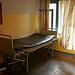 Bed in the maternity ward at Pokhara Regional Hospital