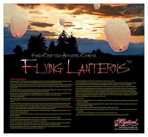 Sky Lantern - Glow Lantern - Glo Lantern - Khoom Fay - Flying Lanterns