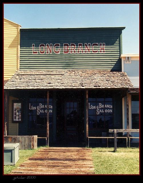 Dodge City Kansas Long Branch Saloon Flickr Photo