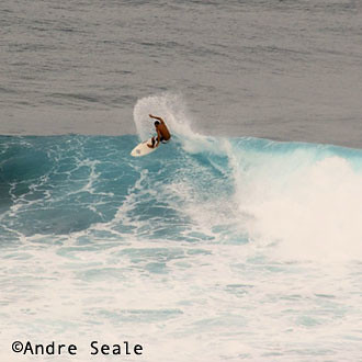 Hanalei surf