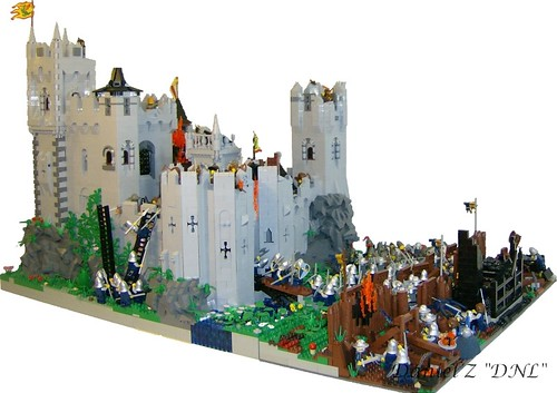 The siege of Hrothingas castle