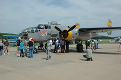 aviation, military aircraft, airplane, propeller driven aircraft, vehicle, north american b-25 mitchell, bomber, aircraft engine, air force,