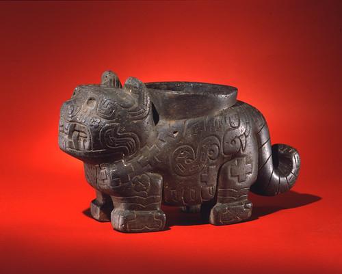 Andean Jaguar Effigy Mortar