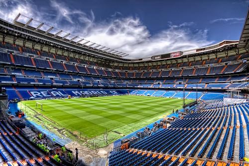 Real Madrid CF, Santiago Bernabéu Stadium, Madrid HDR
