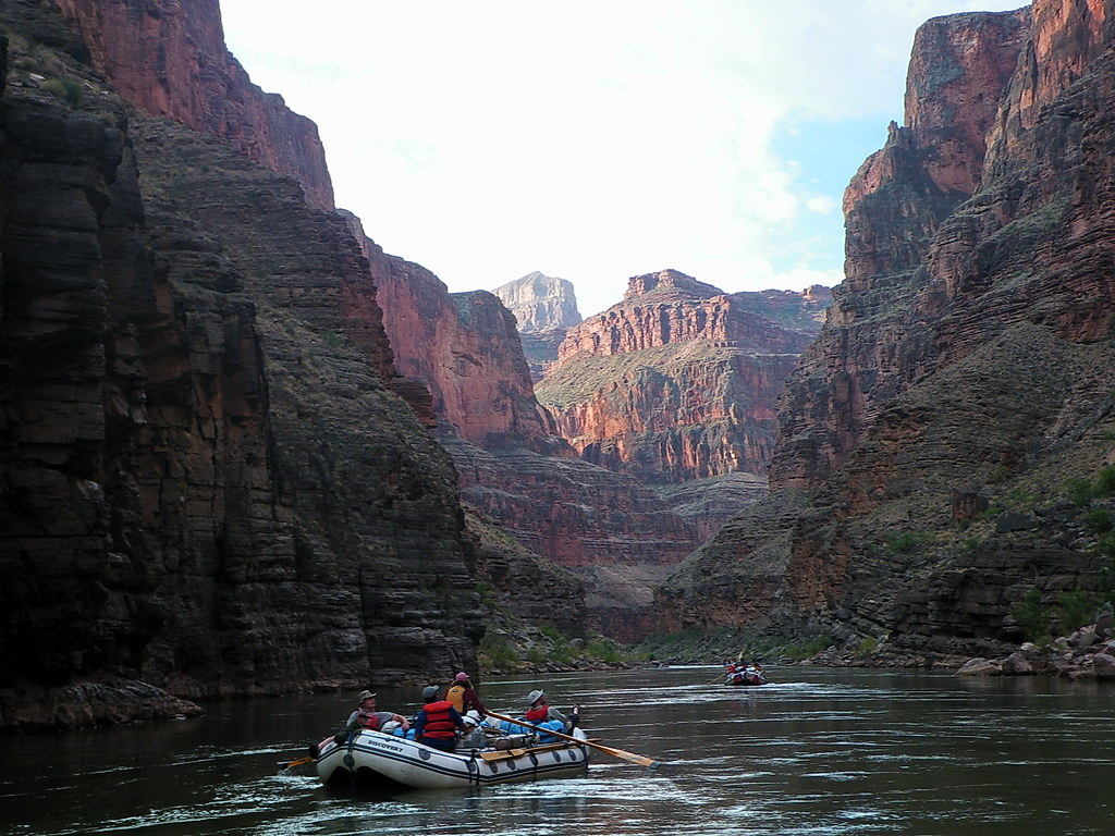 Beginning a new day rafting the Colorado River - Grand Canyon Outside Found Adventure Bucket List