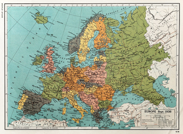 Europe sept 1938 Flickr Photo Sharing