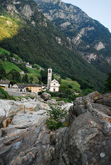 Lavertezzo im Valle Verzasca