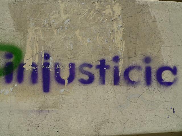 Stencil - injustice