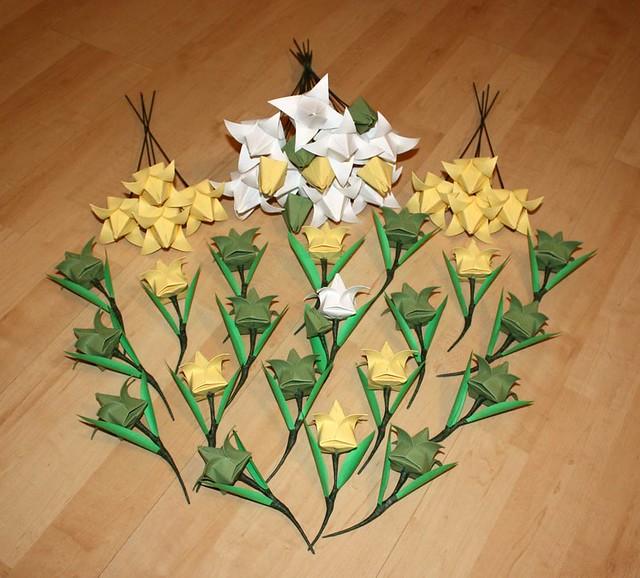 origami wedding flowers flickr photo sharing
