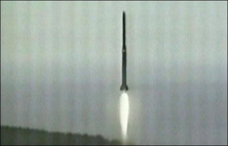 Rocket launch from the DPRK took place on April 5, 2009. The US condemned the launch but the UN Security Council did not issue a position. by Pan-African News Wire File Photos