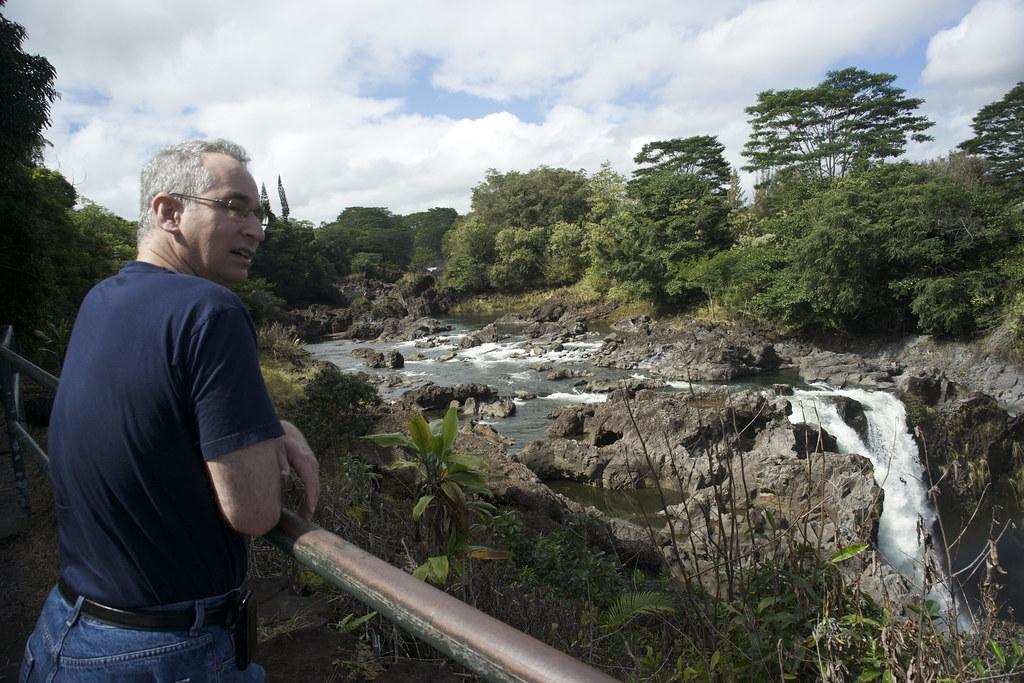 David at Rainbow Falls