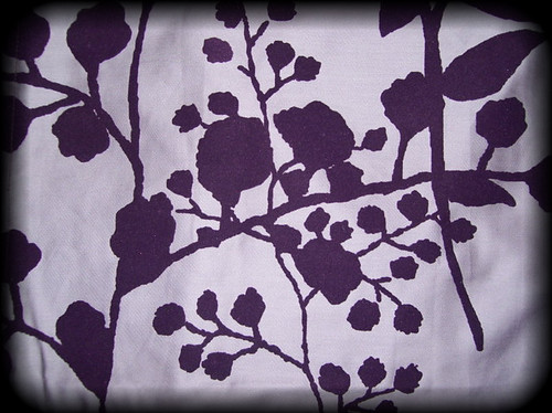 Bella Swan's Purple Bedspread - Twilight