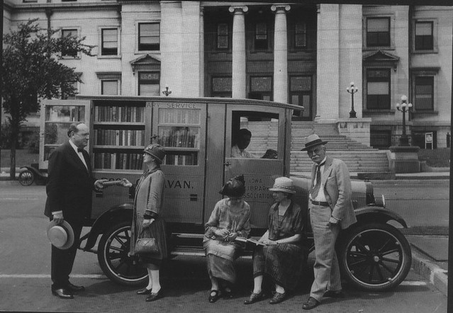Bookmobile Iowa