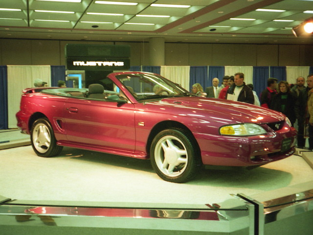 1994 ford mustang gt convertible a photo on flickriver. Black Bedroom Furniture Sets. Home Design Ideas