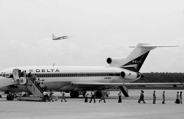 Delta B-727 (1970's)