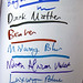 Noodler's inks tested at Boston Pen Show 2009, part 2 by Missive Maven