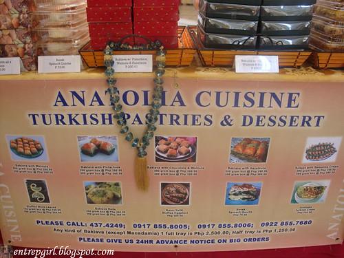Baker 39 s dozen in rockwell for Anatolia turkish cuisine