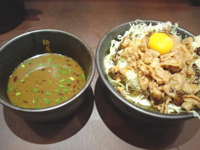 Curry tsukemen from MENYA MUSASHI Bujin @ Akihabara - カレーつけ麺 ...