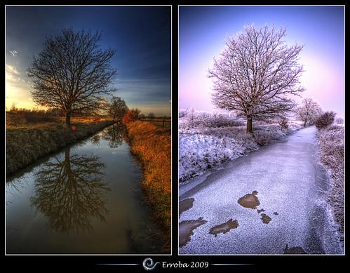 autumn winter white snow tree ice photoshop canon rebel frozen frost belgium belgique tripod belgië sigma naturereserve tips remote brook 1020mm erlend hdr mechelen cs3 3xp photomatix tonemapped tonemapping xti 400d hetbroek erroba robaye erlendrobaye