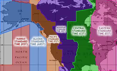 Alaska Time Zone Map My Blog - Us time zone map with alaska
