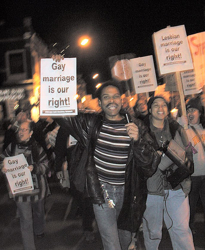 Taking the fight for equal marriage rights to the streets flickr