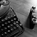 Typewriter & Camera
