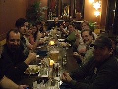 Dinner after Florida DrupalCamp 09